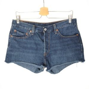 Levi's 501 Cut Off Shorts Jeans Women's 31